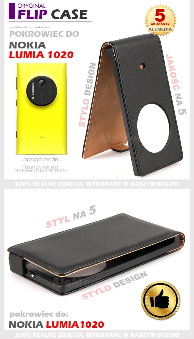 Nokia Lumia 1020 Etui Pokrowiec Futerał FOLIA